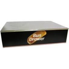 Dry Hotdog Bun Box for 10 Dog Roller Grill