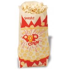 Paper Popcorn Bags - 1 oz - QTY 1,000