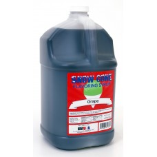 Snow Cone Syrup – Grape - 1 Gal.