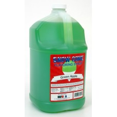 Snow Cone Syrup – Green Apple - 1 Gal.