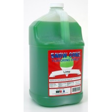 Snow Cone Syrup – Lime - 1 Gal.