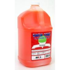 Snow Cone Syrup – Orange - 1 Gal.