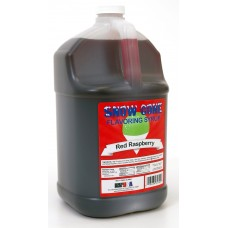 Snow Cone Syrup – Red Raspberry - 1 Gal.