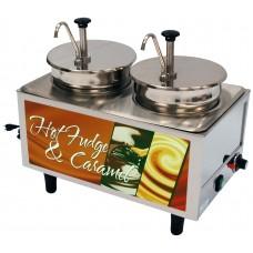 Hot Fudge / Caramel Warmer - 2 Pumps