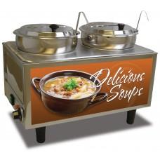 Soup Station - 2 Ladles & Lids