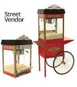 Street Vendor Popcorn Machines