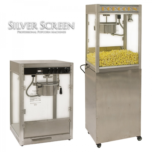 Silver Screen Popcorn Machines