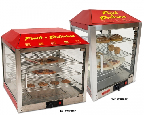 2 Door Pizza Warmer / Merchandiser